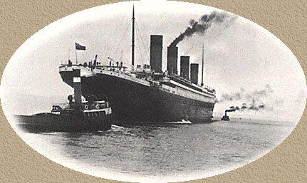 RMS Titanic Dinner Menus