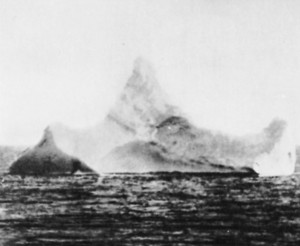Iceberg that the Titanic hit