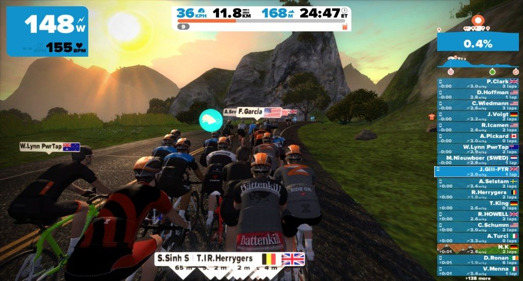 TitaniumGeek 2015-05-07_1836009-1024x550 Zwift User Manual - The Unofficial Guide to Zwift! Zwift phone app Zwift manual Zwift user manual updates manual ios Gear cycling android