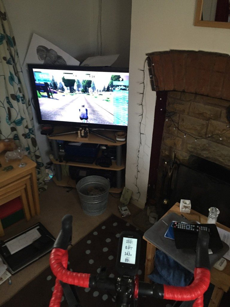 TitaniumGeek IMG 0818 768x1024 Using Zwift for Fractured Elbow Rehabilitation with Wahoo KICKR Olecranon Fracture Posts Zwift  Zwift Wahoo KICKR Wahoo stretches physiotherapy Olecranon fracture olecranon KICKR elbow fracture cycling Cycleops   Image of IMG 0818 768x1024