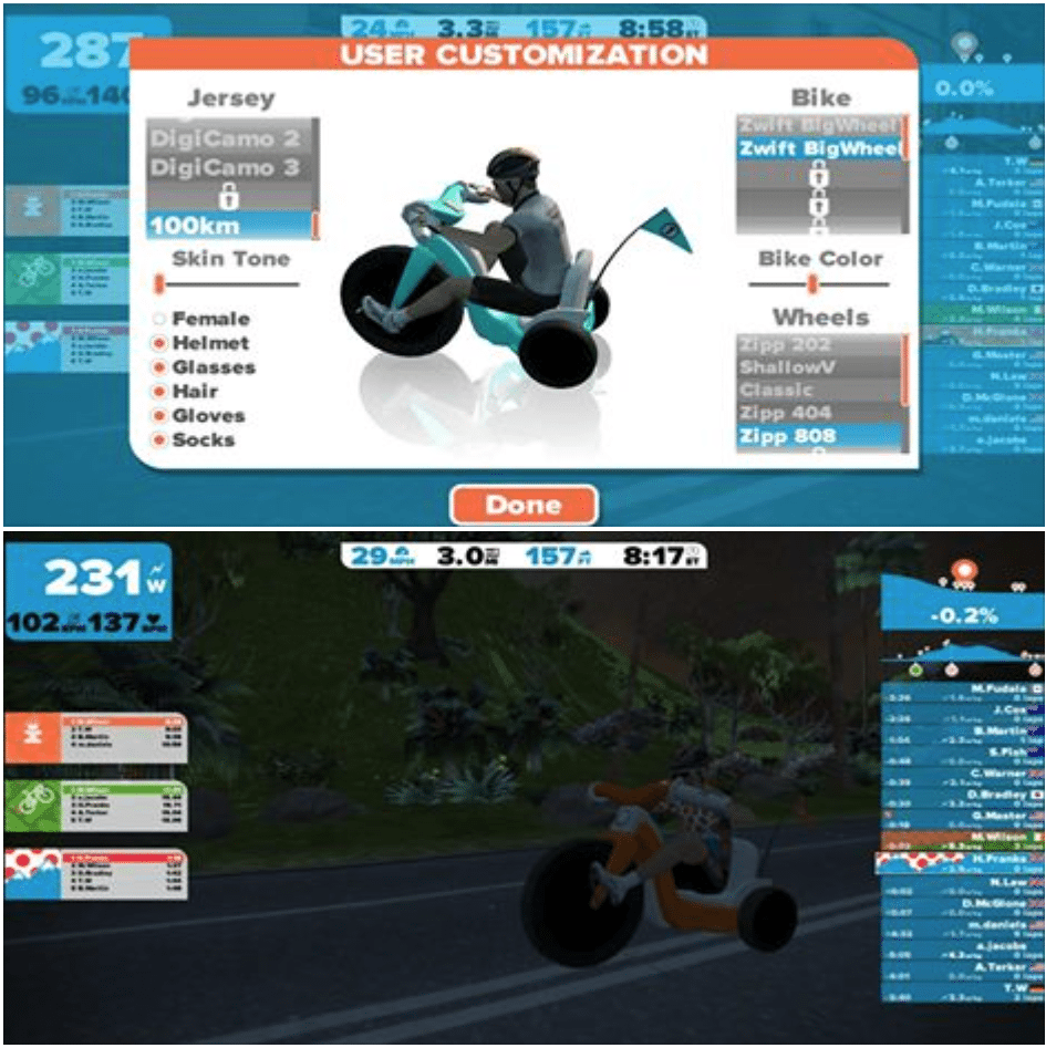 TitaniumGeek Screen Shot 2015 04 03 at 17.25.14 Zwift User Manual   The Unofficial Guide to Zwift! Cycling Zwift  Zwift phone app Zwift manual Zwift user manual updates manual ios Gear cycling android   Image of Screen Shot 2015 04 03 at 17.25.14