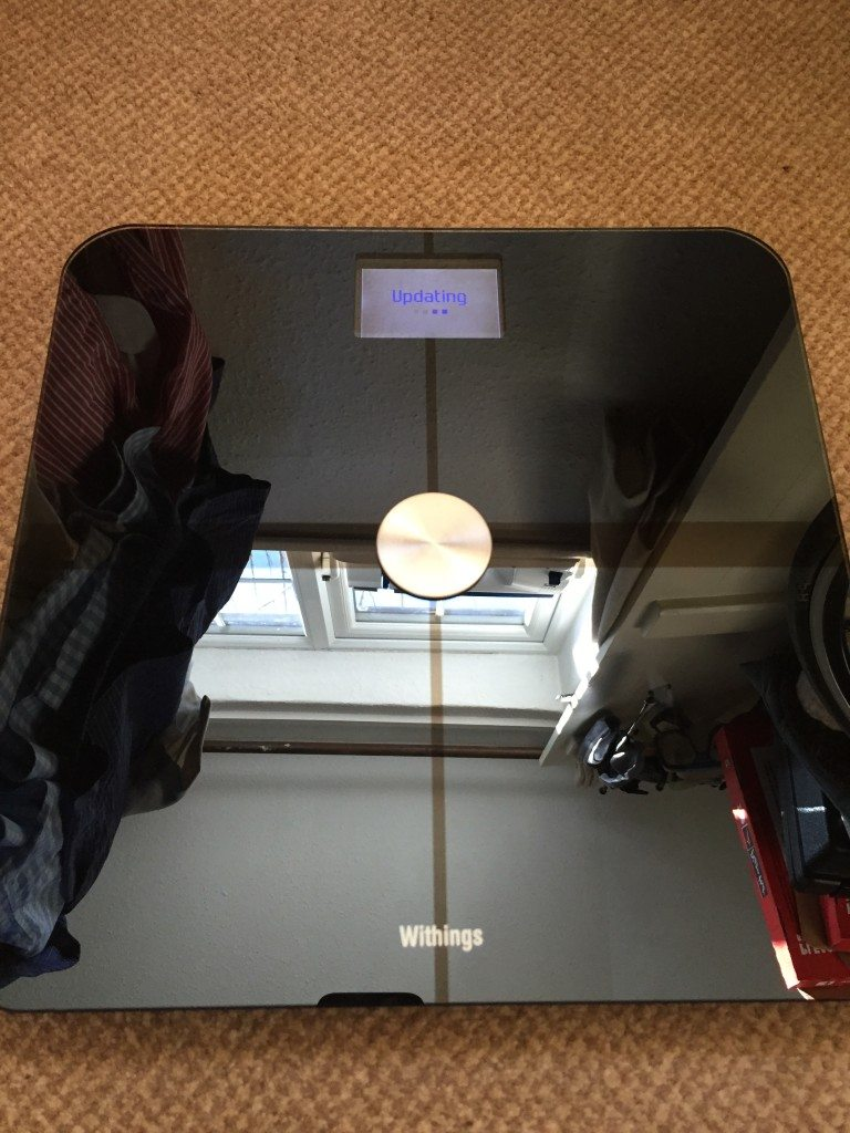 TitaniumGeek IMG 0707 768x1024 Withings Smart Body Analyser Scale WS 50 Review Gear Reviews Scales  withings wiggins weight training Smart body Analyser scales fat mass   Image of IMG 0707 768x1024