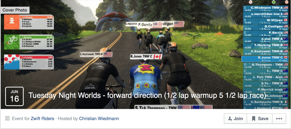 TitaniumGeek Screen Shot 2015 06 30 at 09.12.03 1024x453 Zwift Rides and Races, Events and Acronyms Cycling Zwift  Zwift user manual races jerseys cycling   Image of Screen Shot 2015 06 30 at 09.12.03 1024x453