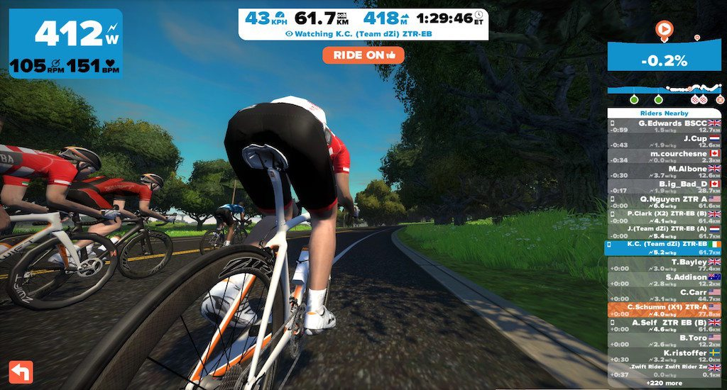 TitaniumGeek 2015 10 20 19580222 1024x550 Zwift User Manual   The Unofficial Guide to Zwift! Cycling Zwift  Zwift phone app Zwift manual Zwift user manual updates manual ios Gear cycling android   Image of 2015 10 20 19580222 1024x550
