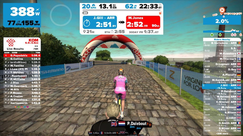 TitaniumGeek 2015 11 15 0921134 1024x576 Zwift User Manual   The Unofficial Guide to Zwift! Cycling Zwift  Zwift phone app Zwift manual Zwift user manual updates manual ios Gear cycling android   Image of 2015 11 15 0921134 1024x576