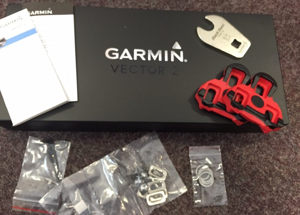 TitaniumGeek Cleats Garmin Vector 2 review - Pedal Based Power Meter Vector Stages power meter pedals garmin cycling dynamics cycling
