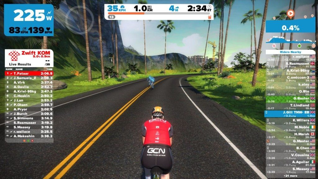 TitaniumGeek IMG_3064-1024x576 Zwift User Manual - The Unofficial Guide to Zwift! Zwift phone app Zwift manual Zwift user manual updates manual ios Gear cycling android