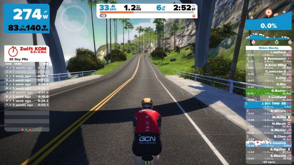 TitaniumGeek IMG_3065-1024x576 Zwift User Manual - The Unofficial Guide to Zwift! Zwift phone app Zwift manual Zwift user manual updates manual ios Gear cycling android