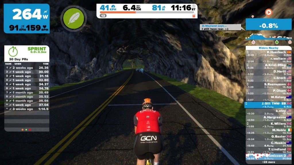 TitaniumGeek IMG_3086-1024x576 Zwift User Manual - The Unofficial Guide to Zwift! Zwift phone app Zwift manual Zwift user manual updates manual ios Gear cycling android