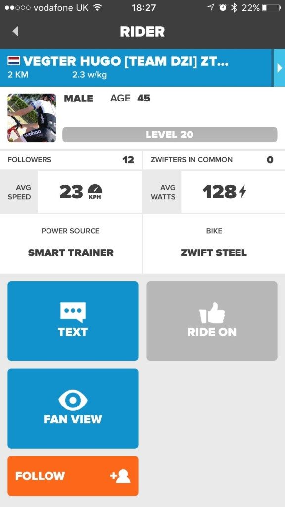 TitaniumGeek IMG_6702-576x1024 Zwift User Manual - The Unofficial Guide to Zwift! Zwift phone app Zwift manual Zwift user manual updates manual ios Gear cycling android