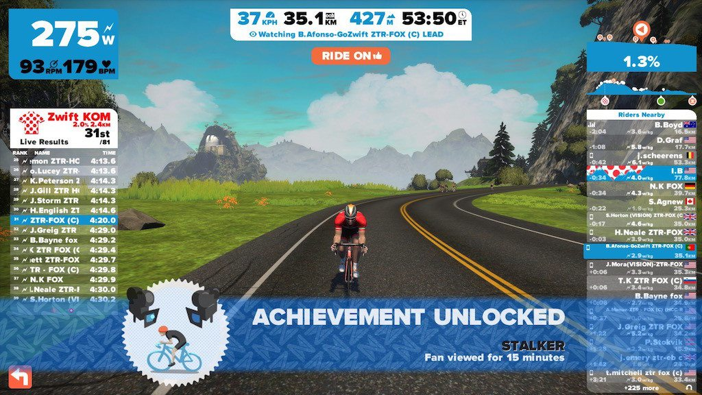 TitaniumGeek IMG_6820-1024x576 Zwift User Manual - The Unofficial Guide to Zwift! Zwift phone app Zwift manual Zwift user manual updates manual ios Gear cycling android
