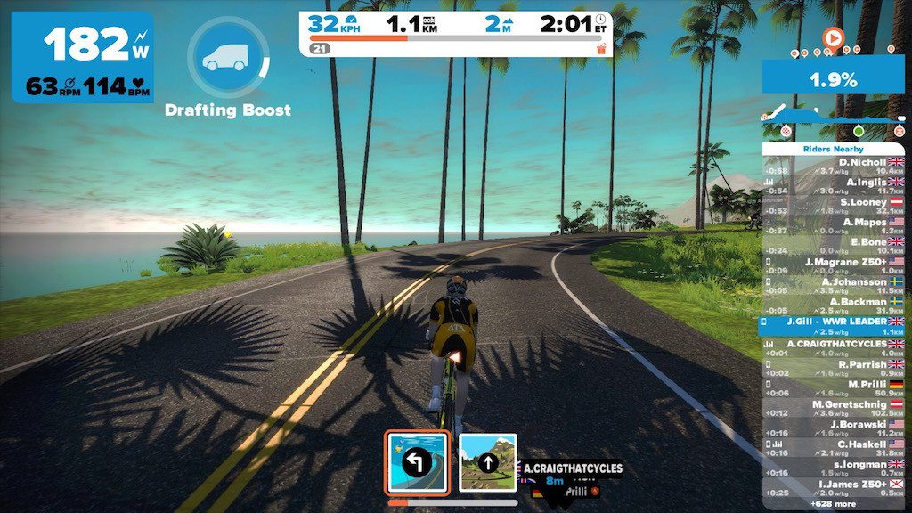 TitaniumGeek IMG_9069-1024x576 Zwift User Manual - The Unofficial Guide to Zwift! Zwift phone app Zwift manual Zwift user manual updates manual ios Gear cycling android