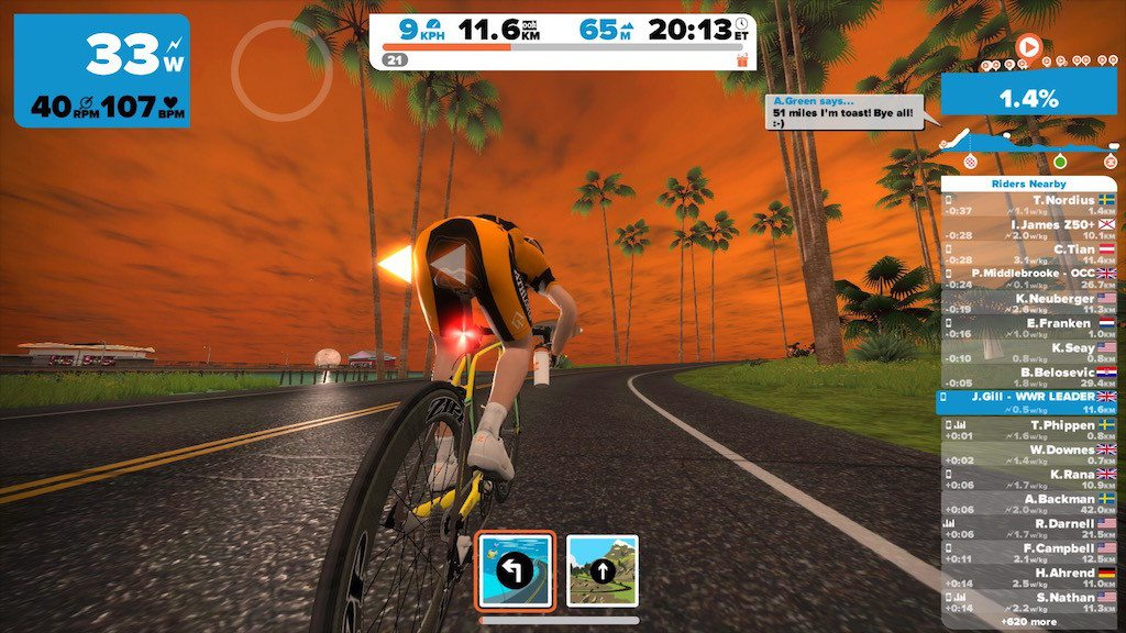 TitaniumGeek IMG_9141-1024x576 Zwift User Manual - The Unofficial Guide to Zwift! Zwift phone app Zwift manual Zwift user manual updates manual ios Gear cycling android