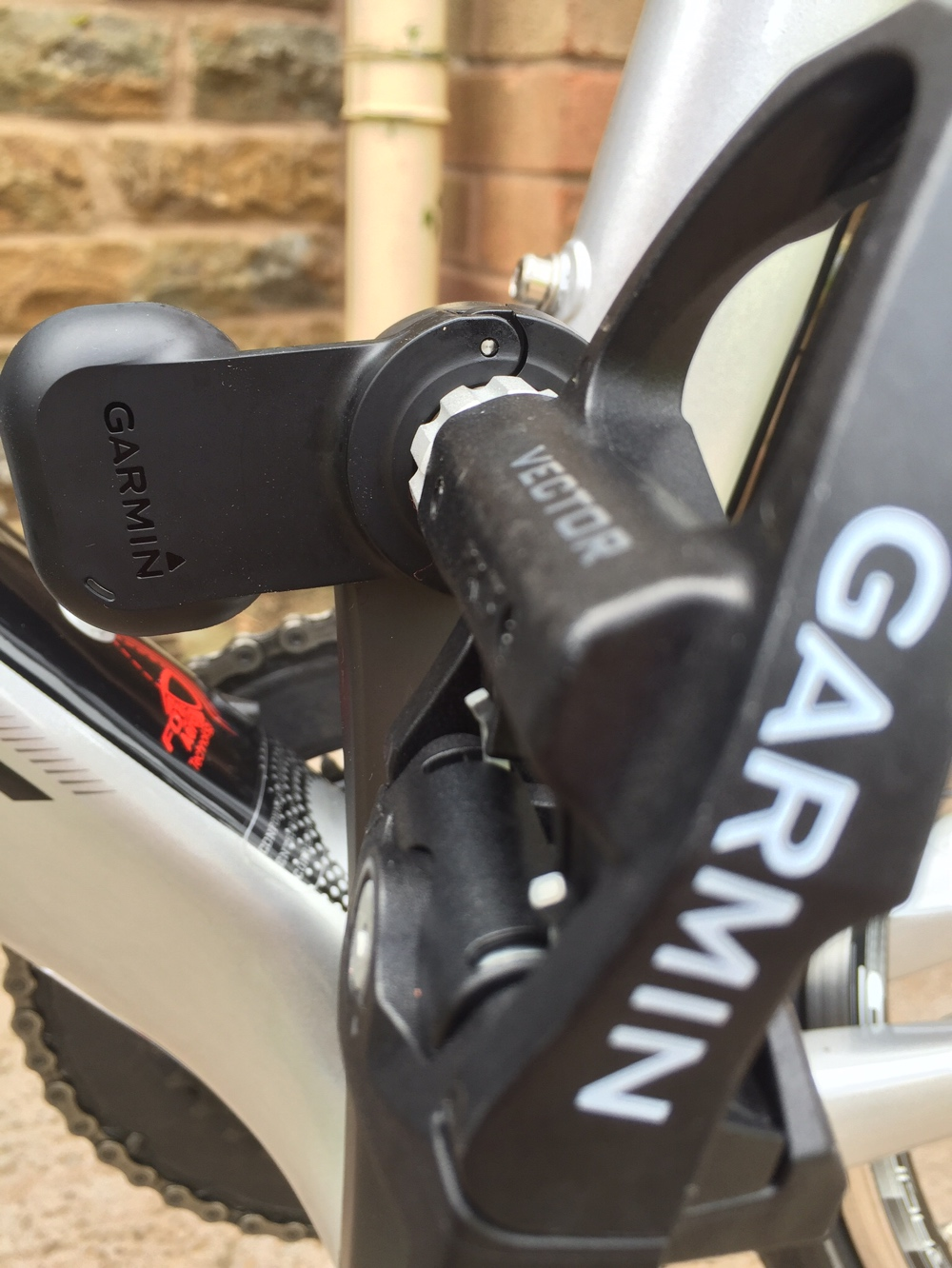 TitaniumGeek Pod Garmin Vector 2 review - Pedal Based Power Meter Vector Stages power meter pedals garmin cycling dynamics cycling