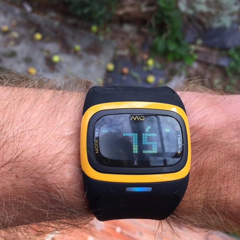 TitaniumGeek IMG 4807 Mio Alpha2 Review   optical heart rate watch    TitaniumGeek Gear Reviews Heart Rate Monitors Running  running optical HRM HRM activity tracker   Image of IMG 4807