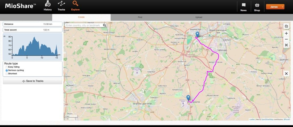 TitaniumGeek Screen Shot 2015 11 17 at 20.51.33 1024x446 Mio 505 Cycling GPS review Cycling Cycling Computers and GPS Units Gear Reviews  Navigation Mio GPS Cycling GPS Cycling computer cycling   Image of Screen Shot 2015 11 17 at 20.51.33 1024x446