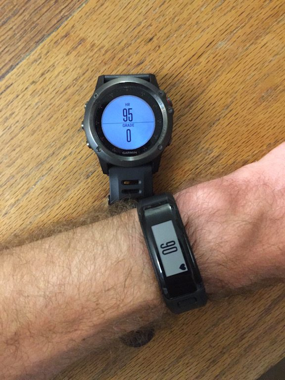 TitaniumGeek IMG_8205 Garmin VivoSmart HR Review - Is this the optical HR activity tracker you have been looking for? VivoSmart running Optical HR heart rate garmin ANT+