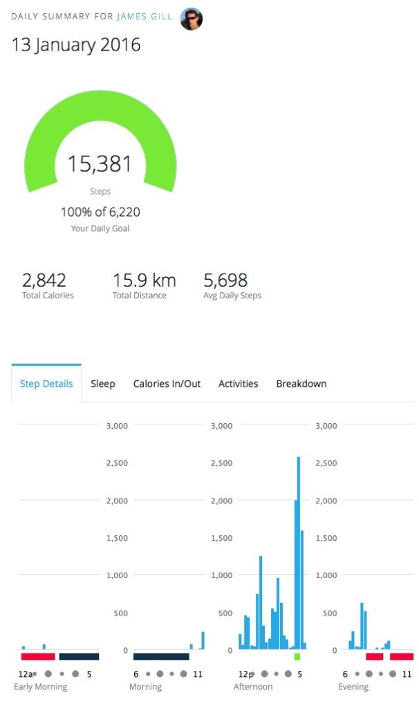 TitaniumGeek Screen Shot 2016 01 14 at 16.49.20 606x1024 Garmin VivoActive Review Gear Reviews Running  VivoFit] Vivo garmin activity tracker   Image of Screen Shot 2016 01 14 at 16.49.20 606x1024
