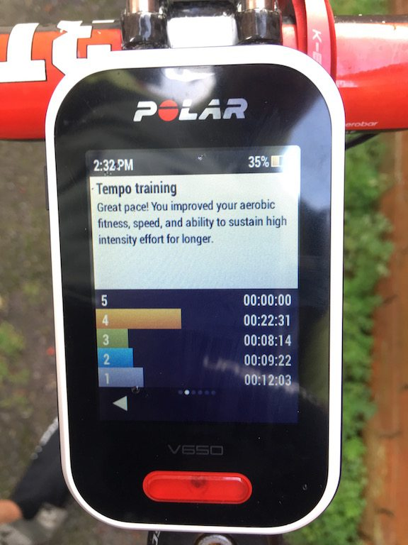 TitaniumGeek IMG 0144 Polar V650 2018 Cycling Computer Review Cycling Cycling Computers and GPS Units Gear Reviews  Polar GPS cycling   Image of IMG 0144