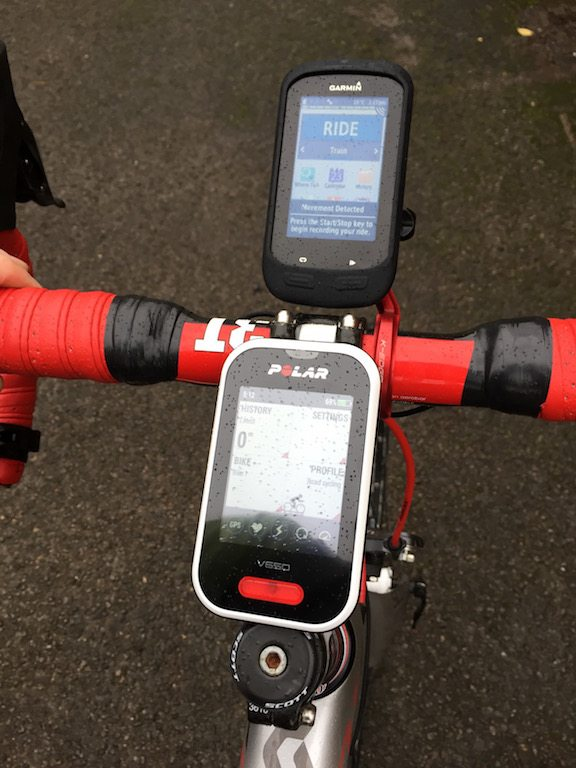 TitaniumGeek IMG 8399 1 Polar V650 GPS Cycling Computer Review Cycling Cycling Computers and GPS Units Gear Reviews  V650 touch screen Polar Navigation GPS Cycling computer cycling Bike computer   Image of IMG 8399 1