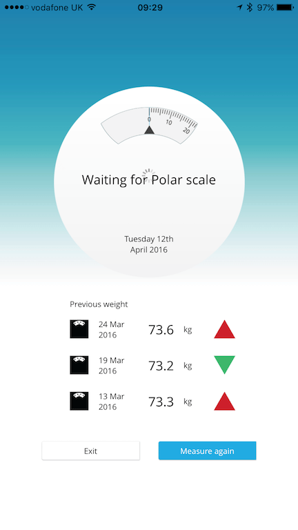 TitaniumGeek IMG 2741 Polar Balance Bluetooth Scale Review Gear Reviews Scales  weightloss weight Smart Scale scales Polar Flow Polar   Image of IMG 2741