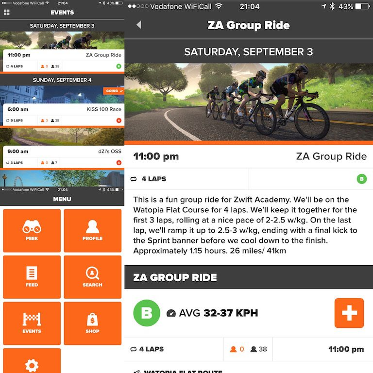 TitaniumGeek IMG_4027 Zwift User Manual - The Unofficial Guide to Zwift! Zwift phone app Zwift manual Zwift user manual updates manual ios Gear cycling android