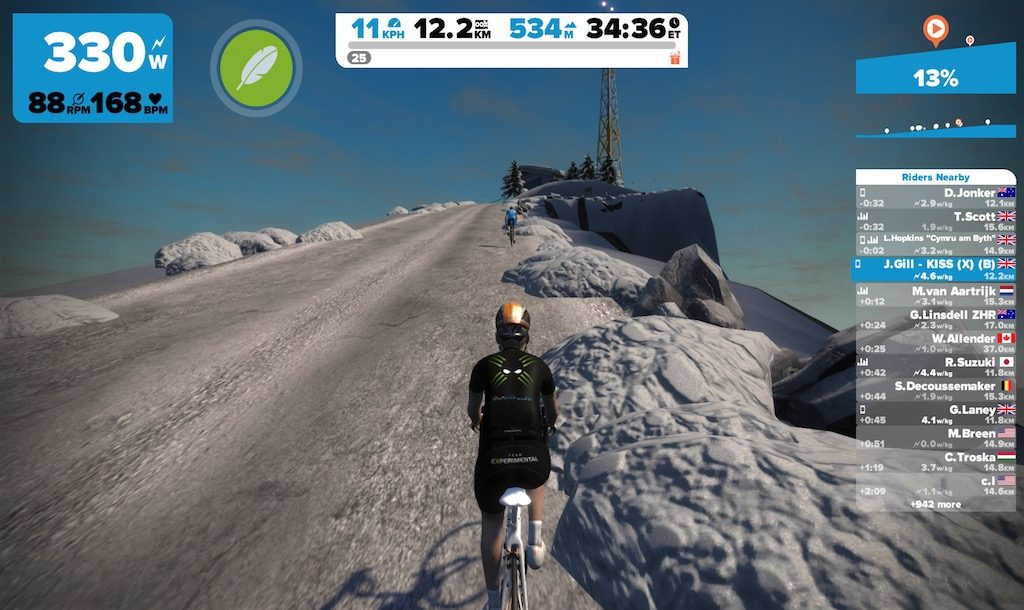 TitaniumGeek IMG 7371 1024x610 Zwift User Manual   The Unofficial Guide to Zwift! Cycling Zwift  Zwift phone app Zwift manual Zwift user manual updates manual ios Gear cycling android   Image of IMG 7371 1024x610