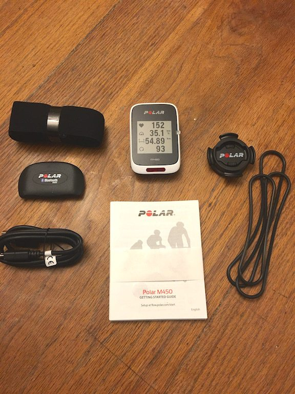 TitaniumGeek IMG 5059 1 Polar M450 GPS cycling computer review Cycling Cycling Computers and GPS Units Gear Reviews  Zwift Polar M450 Polar GPS Garmin 25 garmin Cycling computer cycling Bike   Image of IMG 5059 1