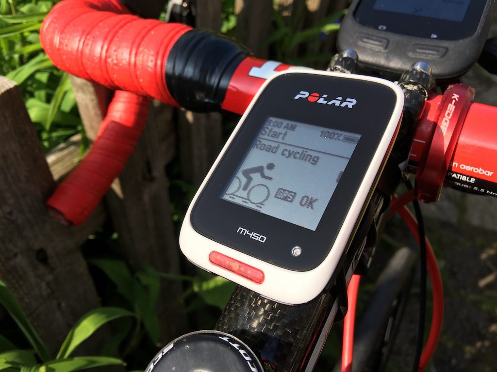 TitaniumGeek IMG 5129 1024x768 Polar M450 GPS cycling computer review Cycling Cycling Computers and GPS Units Gear Reviews  Zwift Polar M450 Polar GPS Garmin 25 garmin Cycling computer cycling Bike   Image of IMG 5129 1024x768