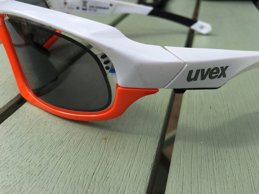 TitaniumGeek IMG_7405-1024x768 Uvex Variotronic FF Sunglasses Review Uvex UV sensor transitions sunglasses smart sunglasses smart glasses shades road mountain biking Glasses e-tint cycling