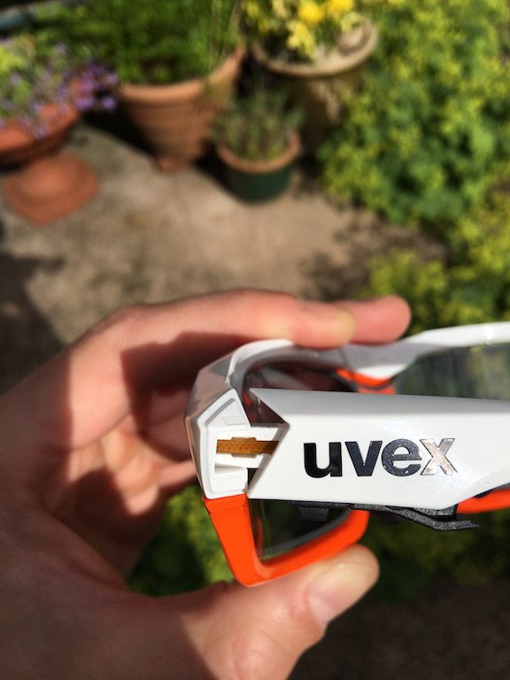 TitaniumGeek IMG_7410 Uvex Variotronic FF Sunglasses Review Uvex UV sensor transitions sunglasses smart sunglasses smart glasses shades road mountain biking Glasses e-tint cycling