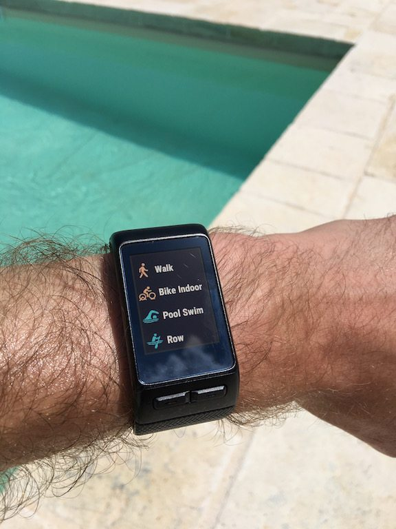 TitaniumGeek IMG_0166-1 Garmin Vivoactive HR Review - Is the complete revamp a success? VivoActive swimming sleep tracking running resting HR Optical Heart Rate garmin cycling