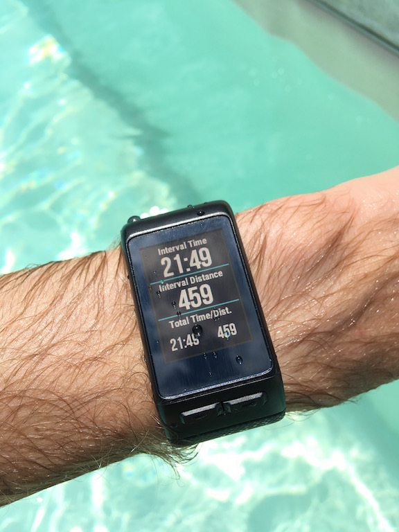 TitaniumGeek IMG_0204 Garmin Vivoactive HR Review - Is the complete revamp a success? VivoActive swimming sleep tracking running resting HR Optical Heart Rate garmin cycling