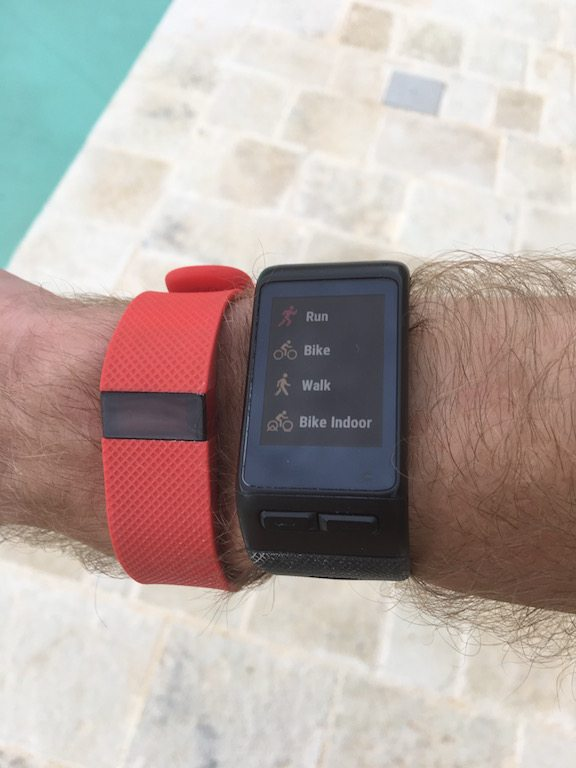 TitaniumGeek IMG_0309 Garmin Vivoactive HR Review - Is the complete revamp a success? VivoActive swimming sleep tracking running resting HR Optical Heart Rate garmin cycling