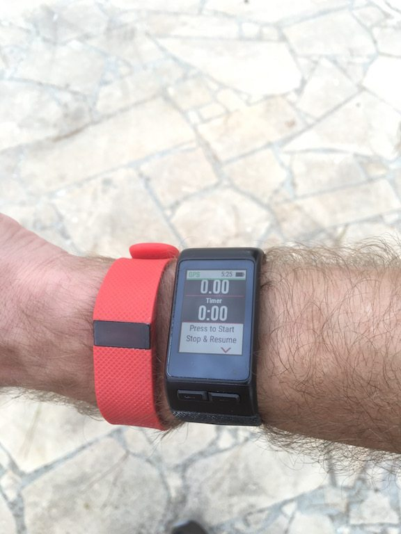 TitaniumGeek IMG_0314 Garmin Vivoactive HR Review - Is the complete revamp a success? VivoActive swimming sleep tracking running resting HR Optical Heart Rate garmin cycling