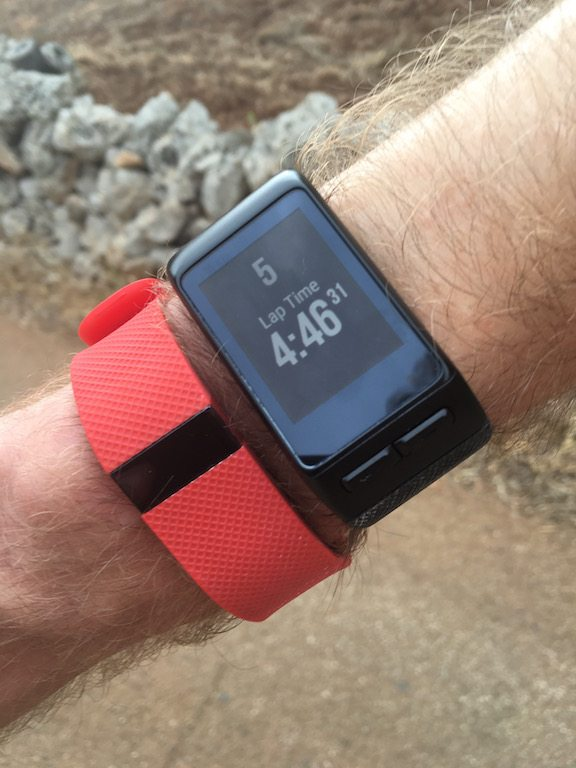TitaniumGeek IMG_0390 Garmin Vivoactive HR Review - Is the complete revamp a success? VivoActive swimming sleep tracking running resting HR Optical Heart Rate garmin cycling