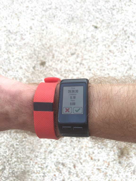 TitaniumGeek IMG_0438 Garmin Vivoactive HR Review - Is the complete revamp a success? VivoActive swimming sleep tracking running resting HR Optical Heart Rate garmin cycling