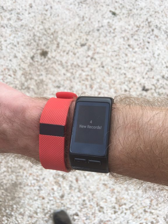 TitaniumGeek IMG_0441 Garmin Vivoactive HR Review - Is the complete revamp a success? VivoActive swimming sleep tracking running resting HR Optical Heart Rate garmin cycling