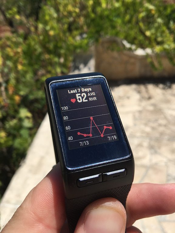 TitaniumGeek IMG_0748 Garmin Vivoactive HR Review - Is the complete revamp a success? VivoActive swimming sleep tracking running resting HR Optical Heart Rate garmin cycling