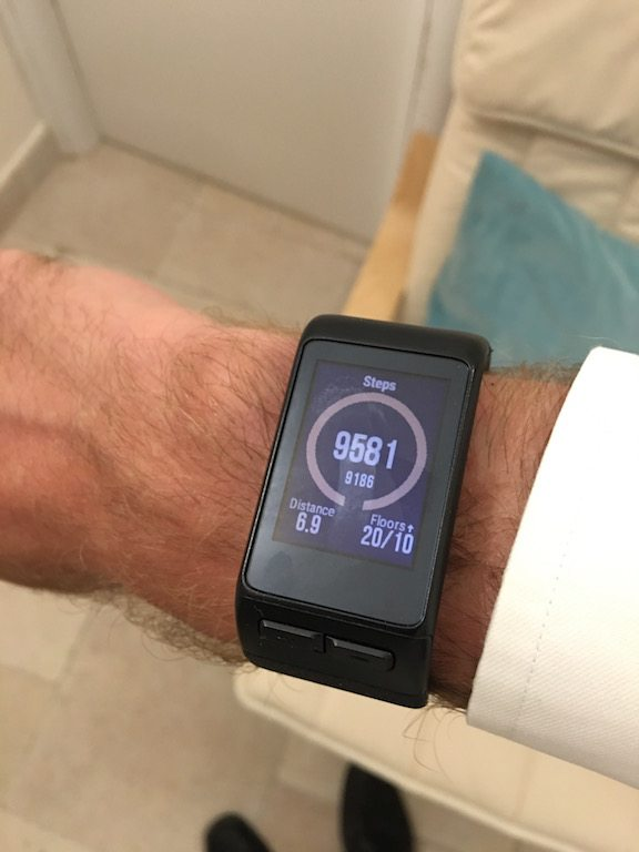 TitaniumGeek IMG_0866 Garmin Vivoactive HR Review - Is the complete revamp a success? VivoActive swimming sleep tracking running resting HR Optical Heart Rate garmin cycling