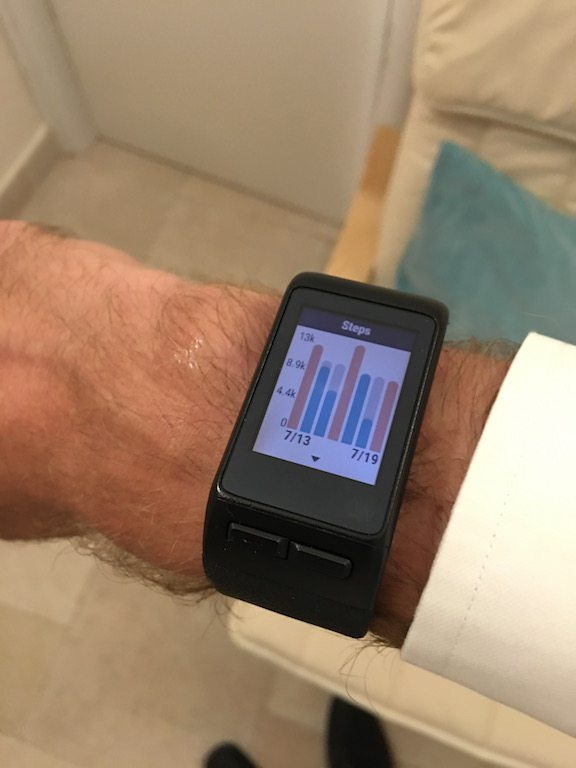 TitaniumGeek IMG_0870 Garmin Vivoactive HR Review - Is the complete revamp a success? VivoActive swimming sleep tracking running resting HR Optical Heart Rate garmin cycling