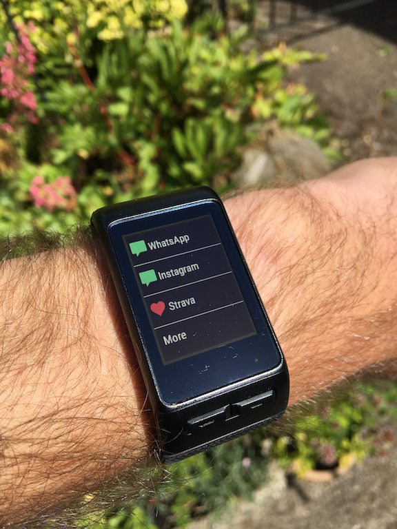 TitaniumGeek IMG_1854 Garmin Vivoactive HR Review - Is the complete revamp a success? VivoActive swimming sleep tracking running resting HR Optical Heart Rate garmin cycling