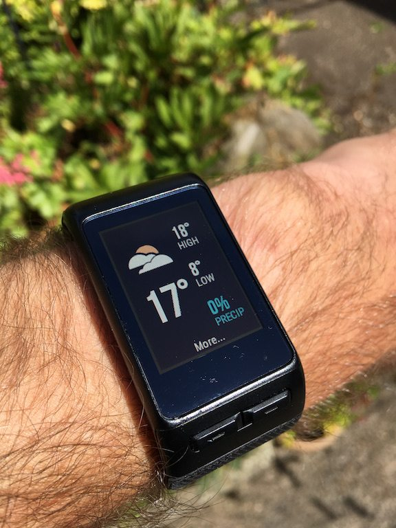 TitaniumGeek IMG_1855 Garmin Vivoactive HR Review - Is the complete revamp a success? VivoActive swimming sleep tracking running resting HR Optical Heart Rate garmin cycling