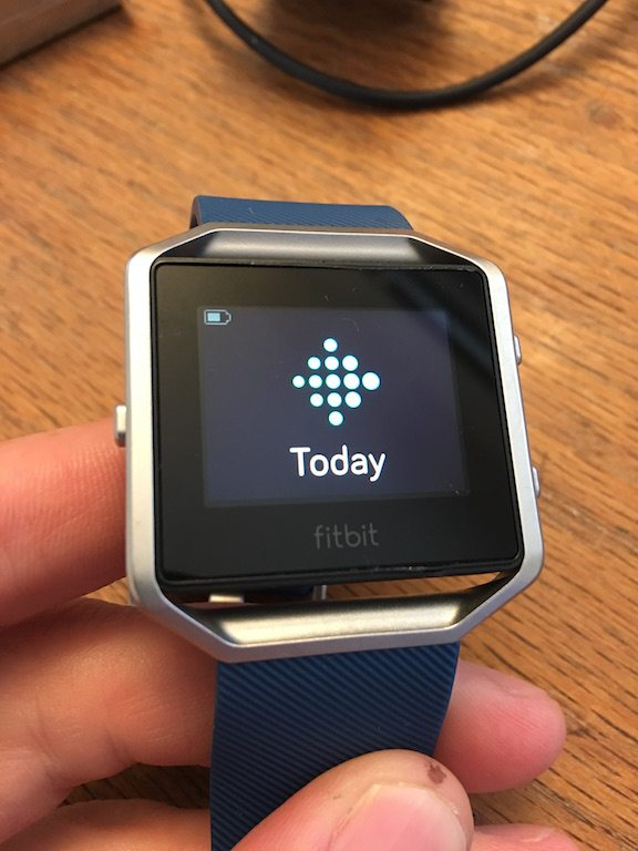 TitaniumGeek IMG_3943 FitBit Blaze review steps smart watch smart notifications running optical HRM HRM Fitbit cycling calorie counter Blaze activity tracker