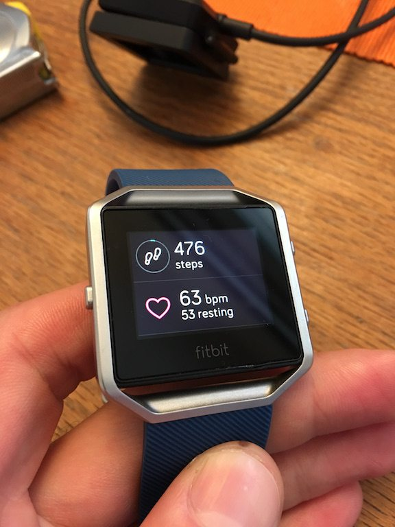 TitaniumGeek IMG 3944 FitBit Blaze review Cycling Gear Reviews Heart Rate Monitors  steps smart watch smart notifications running optical HRM HRM Fitbit cycling calorie counter Blaze activity tracker   Image of IMG 3944