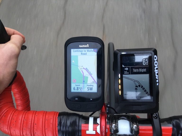 TitaniumGeek IMG_8012 Wahoo Elemnt GPS, and Navigation Review Wahoo Navigation GPS Garmin Edge garmin Elemnt Cycling computer cycling