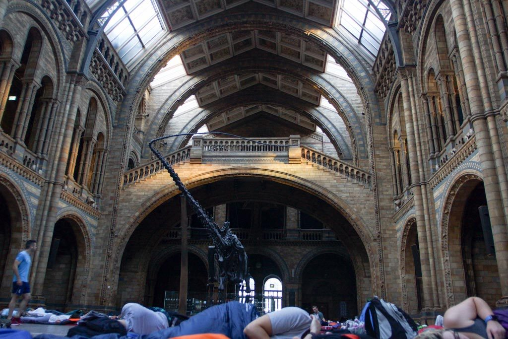 TitaniumGeek untitled-102-of-124-1024x683 Sleeping with Dinosaurs - DinoSnores at the Natural History Museum Titanium Adventures NTFSCD Now Time for Something Completely Different Natural History Museum DinoSnores