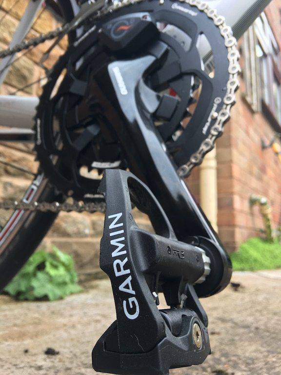 TitaniumGeek IMG_1489 PowerTap C1 Power Meter Review | Zwift Gear Tests! Zwift Gear Test Zwift Wahoo Elemnt Wahoo Stages RideLondon powertap power meter garmin Vector 2 cycling chain ring Bike