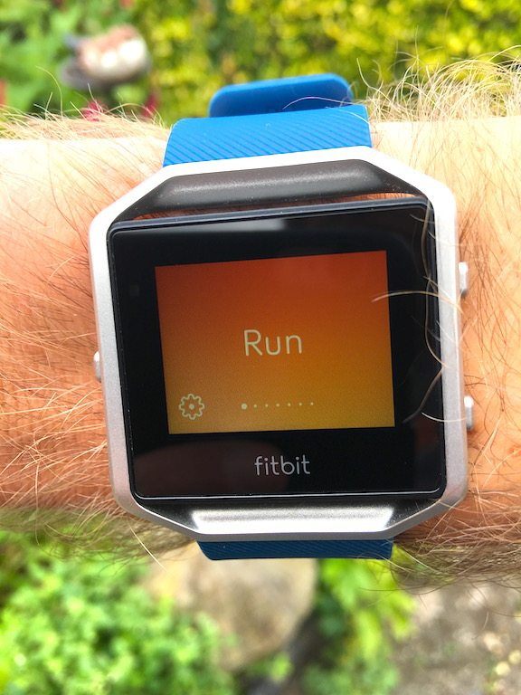 TitaniumGeek IMG_1799 FitBit Blaze review steps smart watch smart notifications running optical HRM HRM Fitbit cycling calorie counter Blaze activity tracker