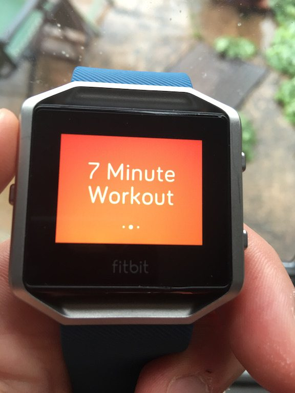 TitaniumGeek IMG_4003-2 FitBit Blaze review steps smart watch smart notifications running optical HRM HRM Fitbit cycling calorie counter Blaze activity tracker